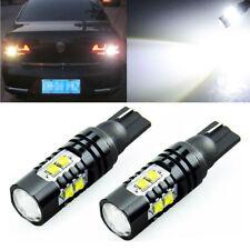 2Pcs CREE 921 906 912 T10 T15 LED 6000K HID White Backup Reverse Lights Bulb 50W