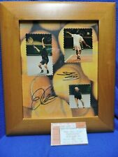 Andre Agassi Pete Sampras Autographs and Ticket