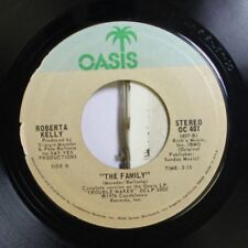Soul 45 Roberta Kelly - The Family / Trouble-Maker On Oasis