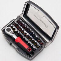 "41 tgl Schraubendreher Satz 1//4/"" Bithalter Bits Magnet Steckschlüssel T-Griff"