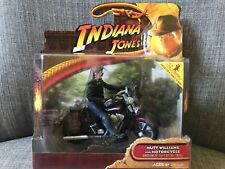 Indiana Jones Kingdom of Crystal Skull Mutt Williams Motorcycle New Sealed Box!!