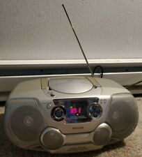 PHILLIPS AZ 1325 CD PLAYER & RADIO DYNAMIC BASS AM FM STEREO AS IS