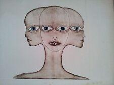 Lithographie Patrick Nogroni ? 50 x 66 cm art contemporain artiste moderne