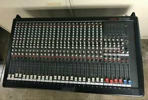 Panasonic Ramsa WR-S4424 24 Channel Audio Mixer - Needs Cleaning - Tested