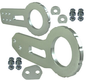 """JDM 2"""" Anodized Billet CNC Aluminum Racing F. & Rear Tow Towing Hook Silver V498"""