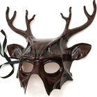 Deer mask with Goggles Animal buck Halloween costume Christmas Winter party Cool