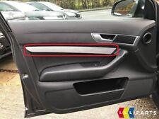 Neuf Véritable Audi A6 C6 Gauche N/S Porte Carte Aluminium Bordure 4F08674091MJ