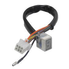LED Digital Gear Indicator Motorcycle Display Shift Lever Sensor Red Light HOT!