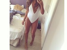 White Asos Swimsuit Bikini Worn Once Ibiza Marbella Magaluf 6/8/10