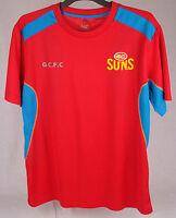 Official AFL Gold Coast Suns Mens Premium Tee Size M
