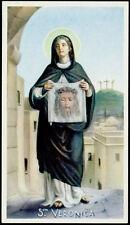 "santino-holy card""""ediz. EB-n.2/314 S.VERONICA"