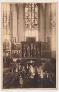 Alte Ansichtskarte Echtofoto Crailsheim Kirche C07