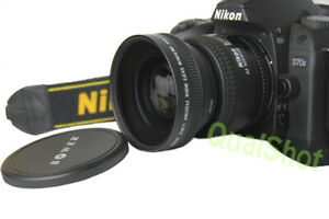 52mm Super Wide Angle .45X  Lens for Canon EOS EF 50mm f/1.8 II Lens