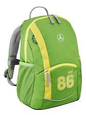 Genuine Mercedes-Benz para niños Unisex Mochila (Verde) - B6695 8434