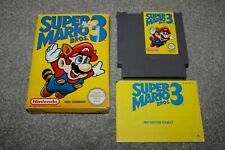 Nintendo NES - Super Mario Bros 3 - Complete - Boxed + Manual - PAL A - VGC