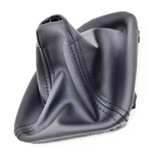 GEAR STICK SHIFT GAITER BOOT BLACK LEATHER FOR BMW 5 SERIES E39 1995 - 2003 P10