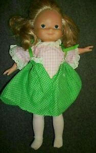 """Fisher Price My Friend Mandy Doll Blonde # 210  16"""" Tall Vintage"""