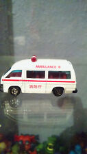 Tomica 1988 No.3 Toyota Hiace ambulance Tomy Japanese car