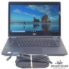"Dell Latitude E7470 14"" Touch Dual i7-6600U 2.6GHz 256GB SSD 16GB RAM READ Batt"