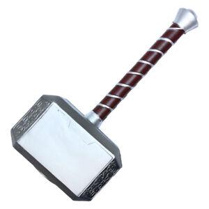 "16.95"" Thor Foam Hammer Halloween Costume Accessory Fake Weapon Cosplay Avengers"