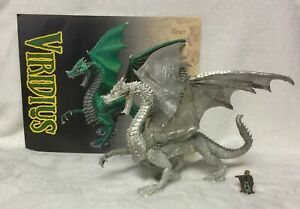 Reaper #10021 Unpainted Metal Veridius Dragon - Well Assembled