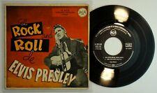 ELVIS PRESLEY • EL ROCK AND ROLL DE ELVIS PRESLEY • Orig 1sT 1956 • SPAIN EP RCA