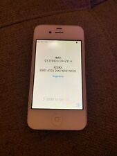 Apple iPhone 4s - 16GB - White (AT&T) A1387 (MC924LL/A) + Charger