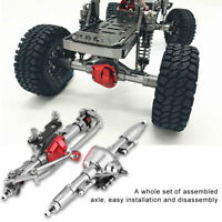 1 Pair Metal Axle Front + Rear Axle For AXIAL SCX10 RC/4WD D90 1:10 Scale RC Car