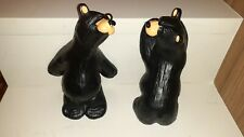 Bearfoots Bears Bookends by Jeff Fleming Big Sky Carvers