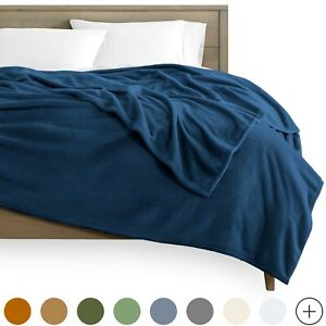 Ultra-Soft Microplush Flannel Fleece Cozy Blanket