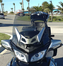 CAN AM SPYDER RT (F4 CUSTOM) TINT PLUS-3 TALL WIDE VENTED WINDSHIELD,