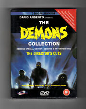 The Demons Collection (DVD) 3-Disc! Director's Cuts! Dario Argento, PAL FORMAT!