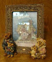"Boyds Frame #27303 GARY, TINA, MATT & BAILEY...A FAMILY PORTRAIT. 5"" X 3.5"" PIC"