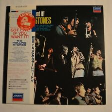 ROLLING STONES - Got live if you want it - 1982 JAPAN LP ORANGE COLOR VINYL
