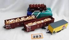 Roco Plastic HO Gauge Model Railway Wagons