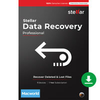 Stellar Data Recovery Software|Mac|Professional|Recover Deleted Files|Download