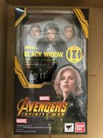 SH S.H. Figuarts Avengers Infinity War Black Widow Bandai Japan NEW