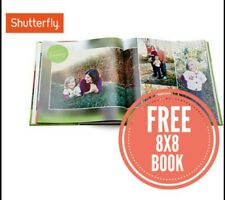Shutterfly 8X8 Hard Cover Photo Book Code expires July 31, 2020