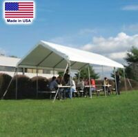 Outdoor Canopy - 10 ft W x 10 ft L - Commercial Duty - 14 Gauge Steel Tube Frame