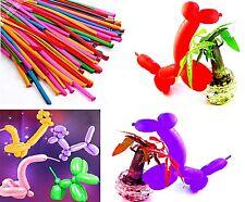 100 Modellierballon Luftballons 100cm lang Hochzeit Party Kindergeburtstag bunt