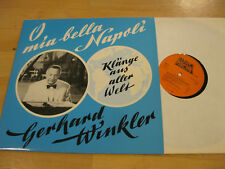 LP Gerhard Winkler Klänge aus aller Welt Mia Bella Napoli Vinyl ELP 596 Europhon