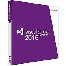 Visual Studio 2015 Enterprise License Digital Delivery Authorized Reseller