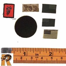 SEAL Six Red Team - Patches Set - 1/6 Scale - BBI Action Figures