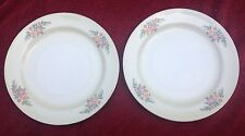 "Eggshell Nautilus Homer Laughlin 1947 USA China 10"" Dinner Plates Pat = HLCN1745"