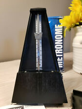 Classic Wittner Plastic Key Wound Metronome - Black (Made in Germany)