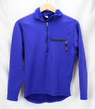 Patagonia Blue Half Zip Pullover Fleece Lightweight Sweater Womans Size Small