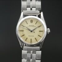 1958 Rolex Oyster speedking Stainless Steel Stem Wind Watch