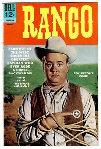 RANGO #1 in VF/NM a 1969 DELL Silver Age Western Comic  Tim Conway cover photo