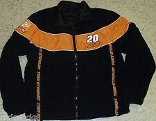 Tony Stewart REVERSIBLE Jacket Coat sz. Large Vintage Nascar Racking Brand NEW!