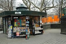NYC Central Park Newsstand Christo's Gate signed Giclee photograph by Arnold